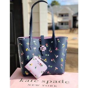 Kate Spade Wildflower Kaci Tote and Wallet